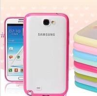三星手机壳n7100硅胶边框外壳 Note2保护套 手机套 韩国 潮 包邮