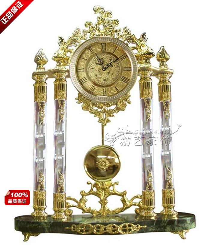 Настольные часы Европейский стиль Сплав Односторонний