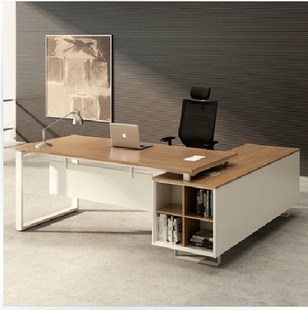 Beijing custom Office furniture special offers factory direct sales fashion simplicity boss head table and desk plates