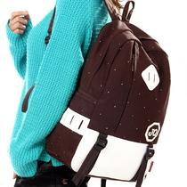 38度背包 11新款双肩包 双肩背包 男女学生书包 旅行包帆布包韩版