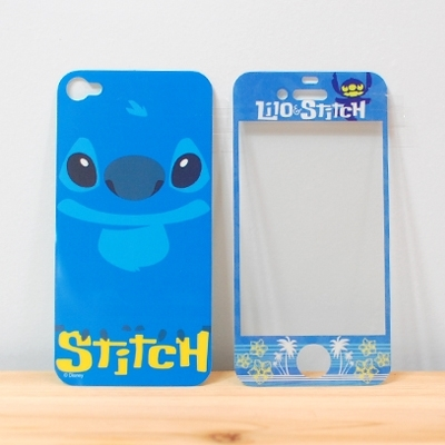 Наклейка на телефон  683371 Disney Japan Disney Iphone 4/4s Stitch