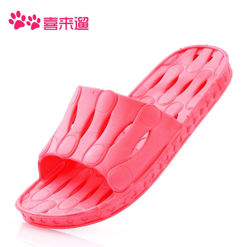 包邮浴室拖鞋夏季拖鞋女男凉拖鞋家居拖鞋防滑室内情侣塑料凉拖鞋