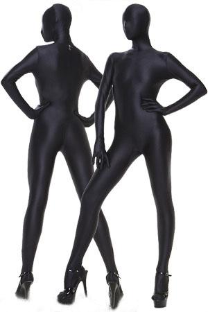 ZENTAI全包紧身衣纯色变装体操服舞台演出服COS服装连体衣塑身衣