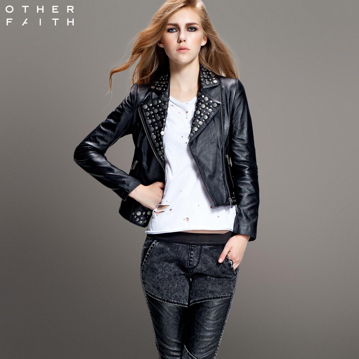 Кожаная куртка OTHERFAITH 13g30023/3 100% 13G30023