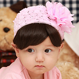 Nemohome 2013 New baby ribbon Korean children hair accessories girls hair accessories headdress flower headband baby headband