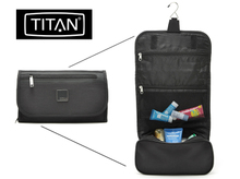 TITAN hanging toiletry bags Germany large outdoor travel toiletry bags cosmetic bag men and women