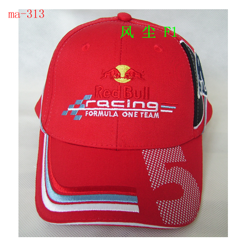 Кепка Red Bull Red Bull Racing Cap Hat красный бык 5, Red Hat