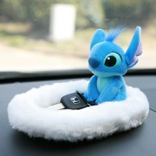 Japan NAPOLEX LILO and stitch auto reset box storage box plush LS-1