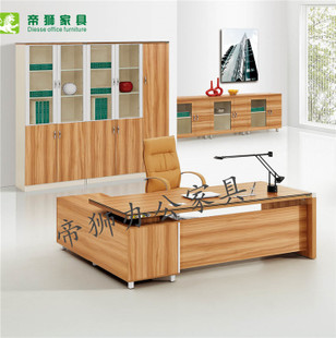 Lion simple modern office furniture desk Taipan boss boss desk supervisor