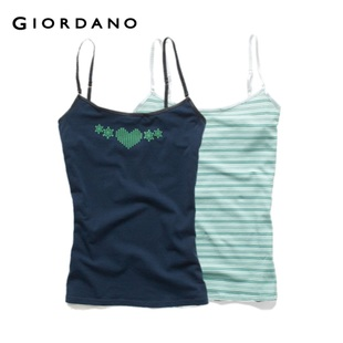 2012 Giordano underwear ladies ' two-Pack fun with stretch Camisole 01240546
