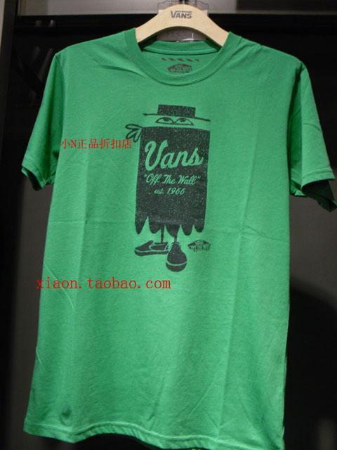 Спортивная футболка VANS 0ngr4pw LOGO Воротник-стойка 100 хлопок Для спорта и отдыха Влагопоглощающие % Логотип бренда