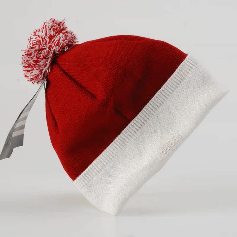 Головной убор Adidas 17/37 Вязаные/трикотажные шапки Комбинированное волокно - натуральная шерсть и синтетика Отстрочка Универсальный тип Зима