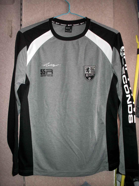 Спортивная футболка EXR ej2tr911m1 2011 Стандартный Воротник-стойка Полиэстер Быстросохнущие
