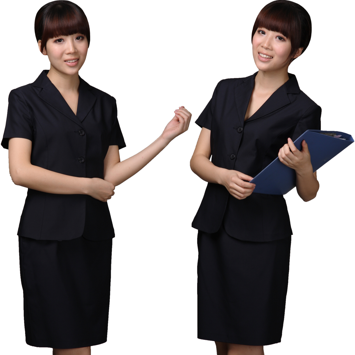 Work uniforms car interior design for Womens work shirts uniforms
