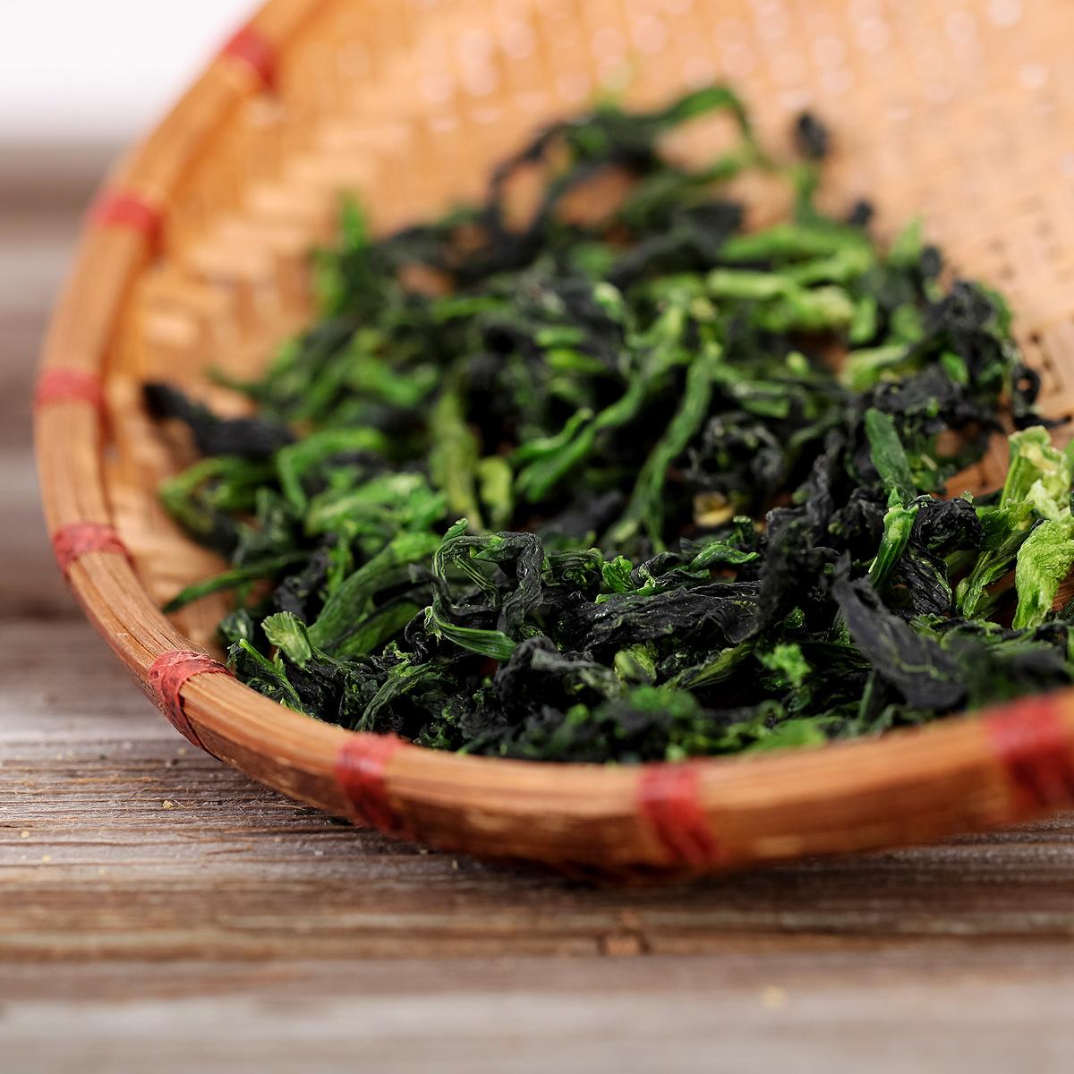 温州特产万年青干菜脱水蔬菜干货橄榄菜菜干凉拌菜心干青菜汤200g