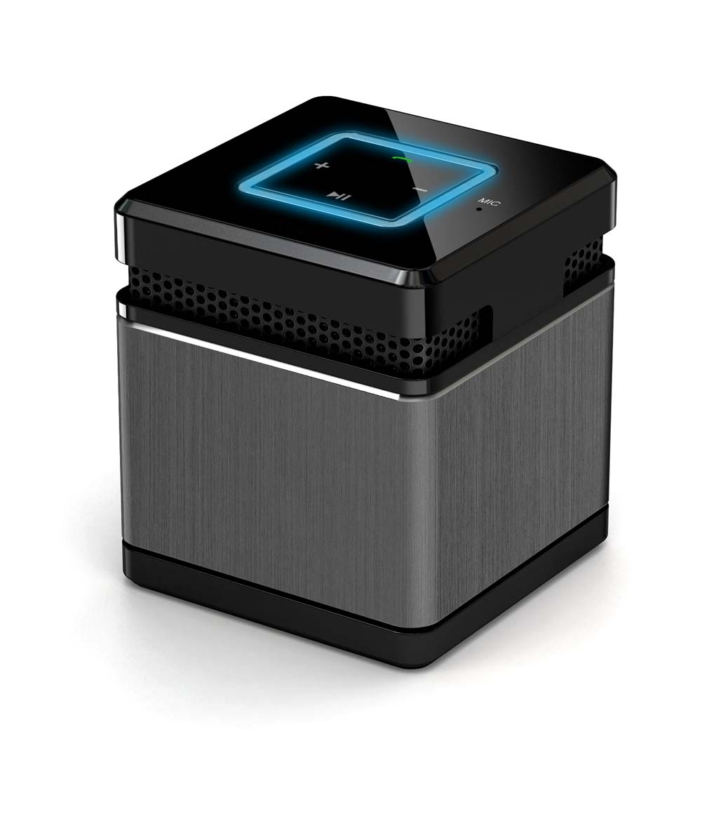 German Mini Metal wireless Bluetooth speaker to answer the phone 4.0 portable computer subwoofer sound card