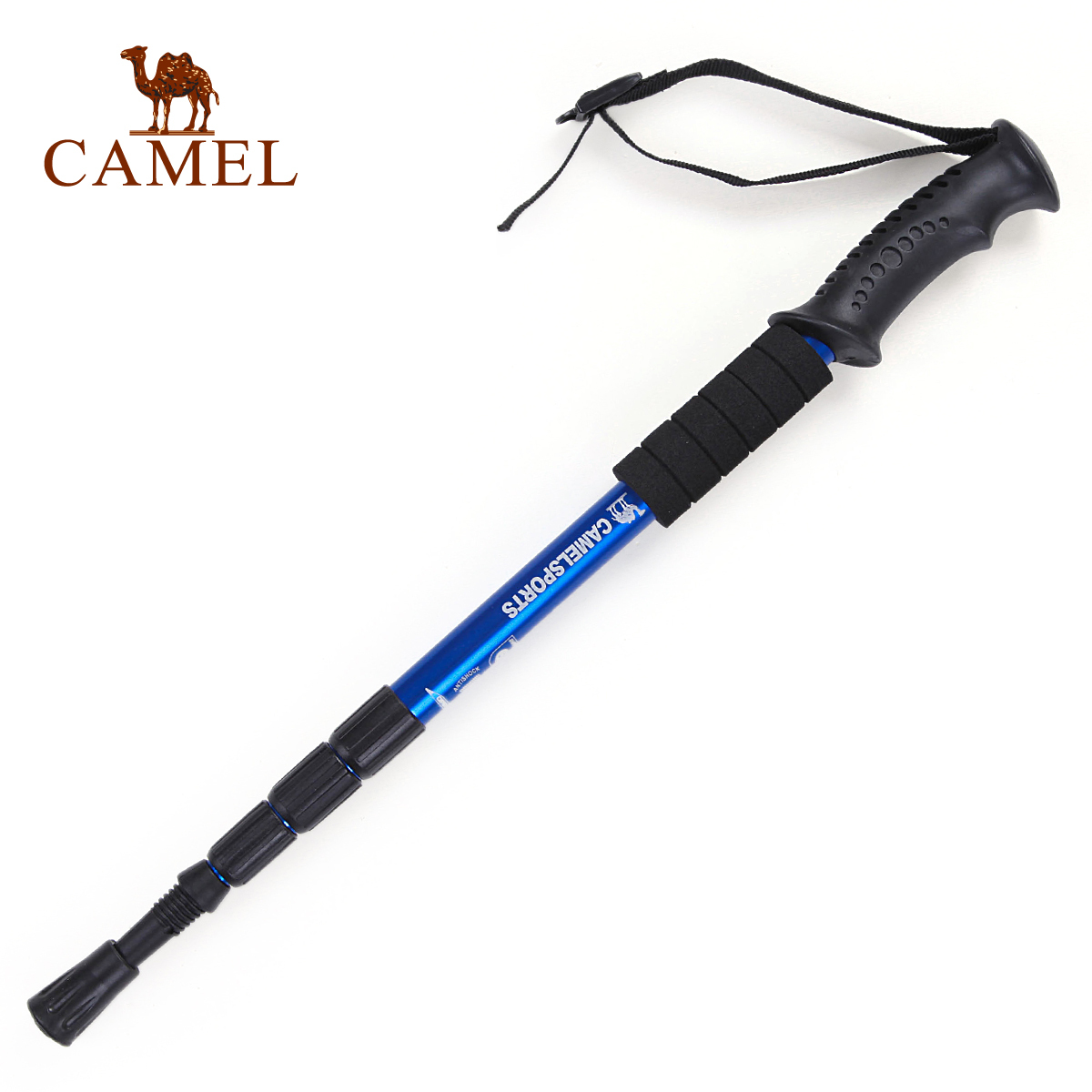 Camel trekking poles outside four ultra light canes a genuine straight shank special canes for hiking mountain climbing 2SA7D41