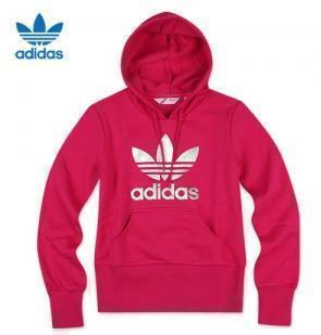 Спортивная толстовка Adidas p04343 TREFOIL HOOD_P04343 Женские Пуловер 100