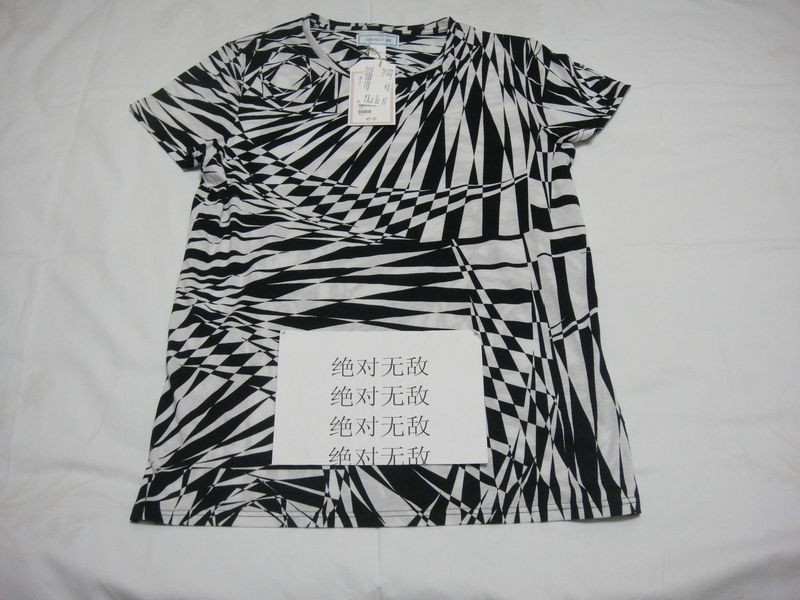 Футболка мужская Versace FOR H&M TEE Короткие рукава (длина рукава <35см)