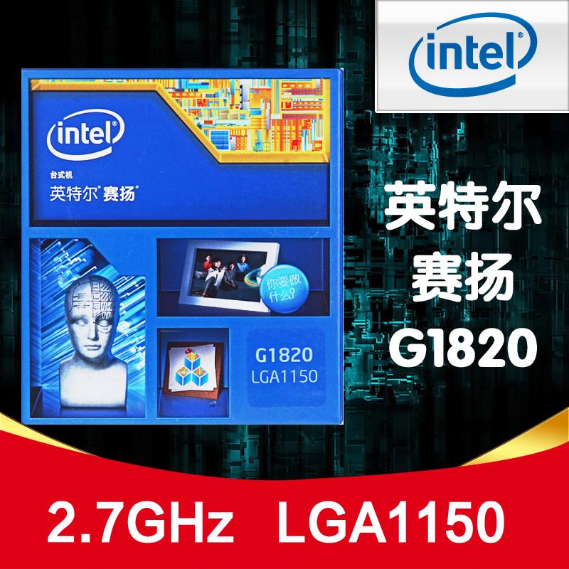Intel/英特尔 G1820 赛扬双核 Haswell 盒装CPU 恩购特惠