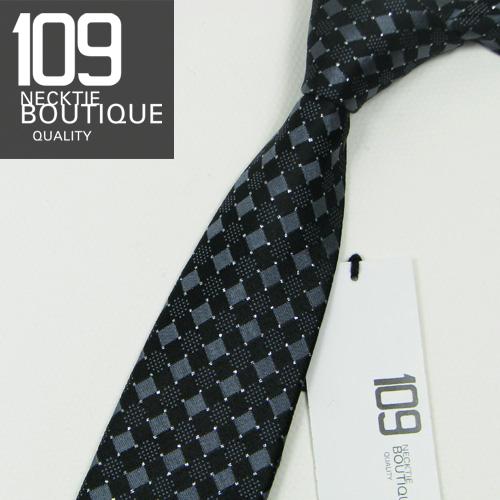 Стреловидный галстук Ультра- узкие ( 7 см) Шелк В клеточку Подкладка из полиэстера Официальный