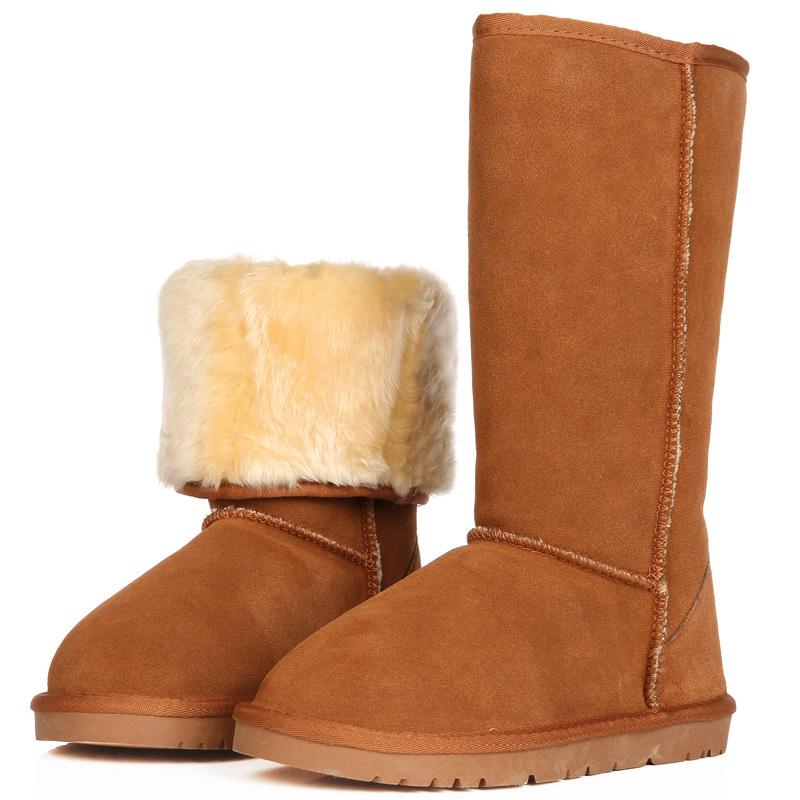 温暖风尚季新款高筒牛筋底雪地靴