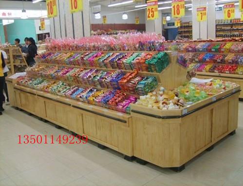 Деревянная витрина Супермаркет конфеты, конфеты зерна питания полки шкафов контргайки
