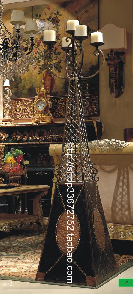 Подсвечник Найди s готический антикварные старый коваными Эйфелевой башни картина длинные свечи c346-62 Подсвечник для свеч классической формы, Подсвечник в форме бокала, Подсвечник для свеч в форме куска, Подсвечник для свеч разной формы Стиль времен династии Мин и Цин Железо