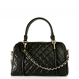 [ 4.6 fold ] Charles & amp; amp; Keith European style big lozenge portable shoulder chain bag CK2-60741000