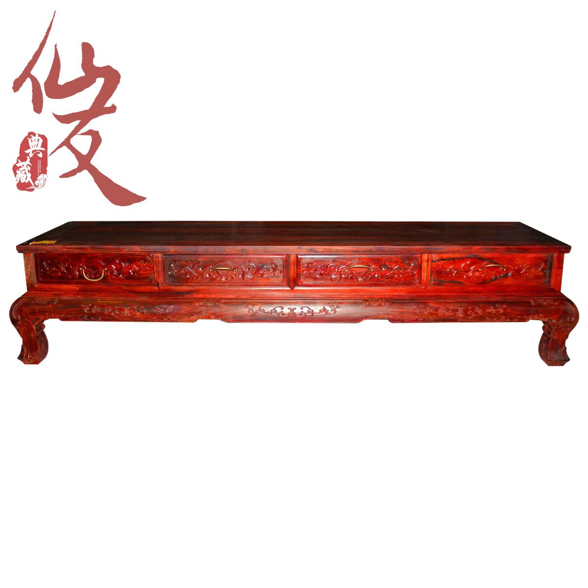 红木家具/老挝大红酸枝电视柜/100%老红木电视柜/红酸枝电视柜