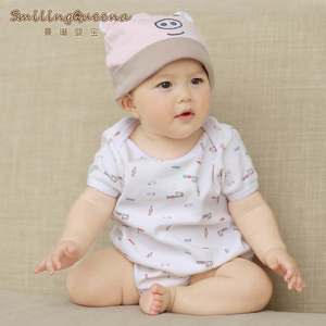Summer clothes male newborn clothing triangle Kazakhstan opening female BABY BODYSUIT 0-1 years climb clothes baby clothes
