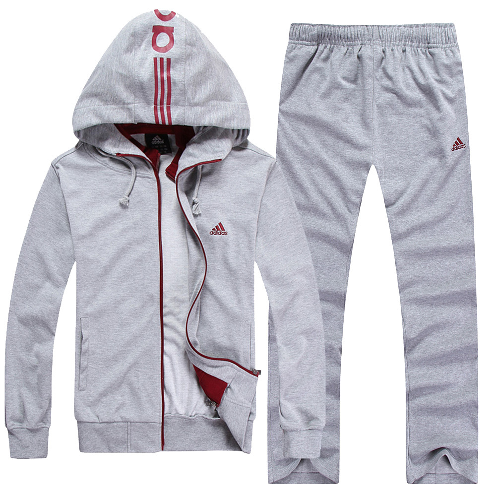 Спортивный костюм Adidas 6633 663 Унисекс Длинные рукава (рукава ≧ 58см) О-вырез Брюки ( длинные ) Для спорта и отдыха Логотип бренда, Вышивка