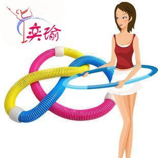 Yick Yu genuine special offer spring Hula Hoop for fitness equipment of soft thin waist adding to the longer weight loss fitness rings