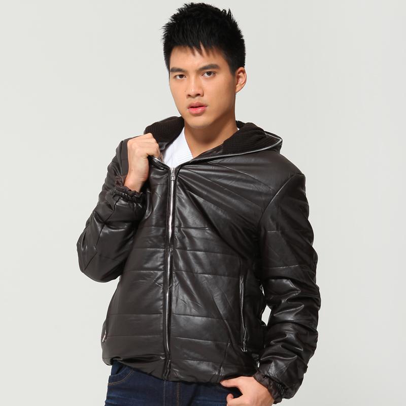 Одежда из кожи Kenny show 9901 PU Искусственая кожа Искусственная кожа (полиуретан) Зимняя Воротник с капюшоном Эксклюзивные корейский и японский стили