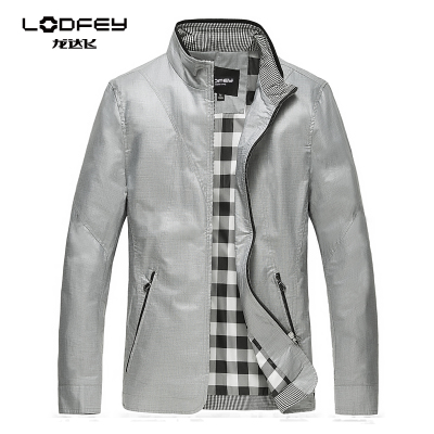 Broken code special clearance men's Spring and Autumn 2014 new men's casual jacket collar thin jacket Korean Slim