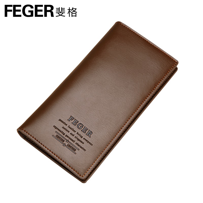 Fibonacci function of men's business casual leather wallet, more than 30 percent of the wallet, Europe and authentic around wallet money clip wallets