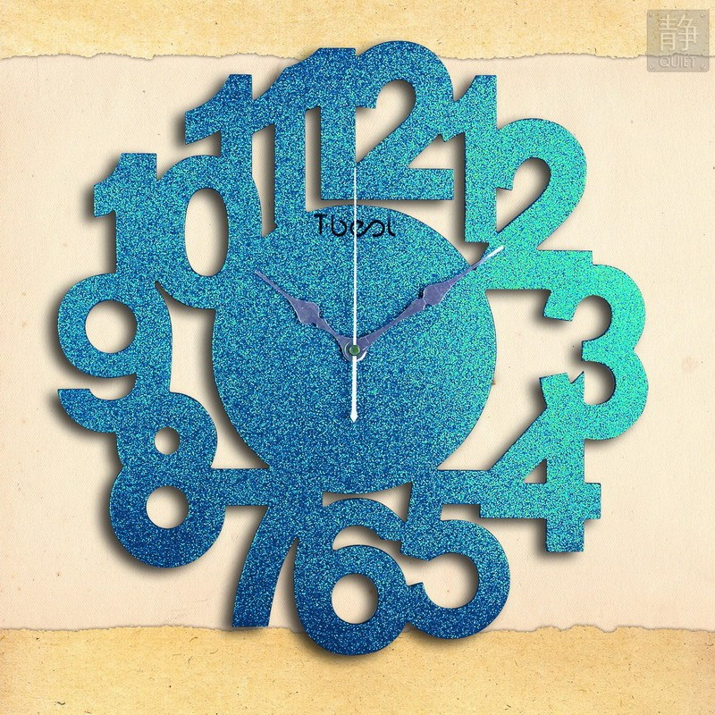 Настенные часы Shang Meijia ca023nd39 T.Best Стиль минимализм Из дерева Односторонний