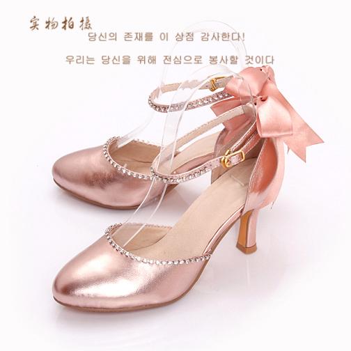 Босоножки Fashion princess CS/L30 40-43 4445 На высоком каблуке (6- 8 см) Овечья кожа