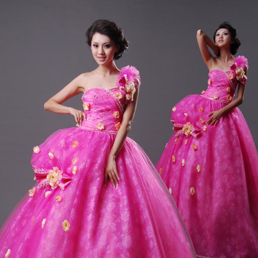 Свадебное платье Filmmakers Square 301 2012 2012 Ткань кристалл Принцесса с кринолином Корейский