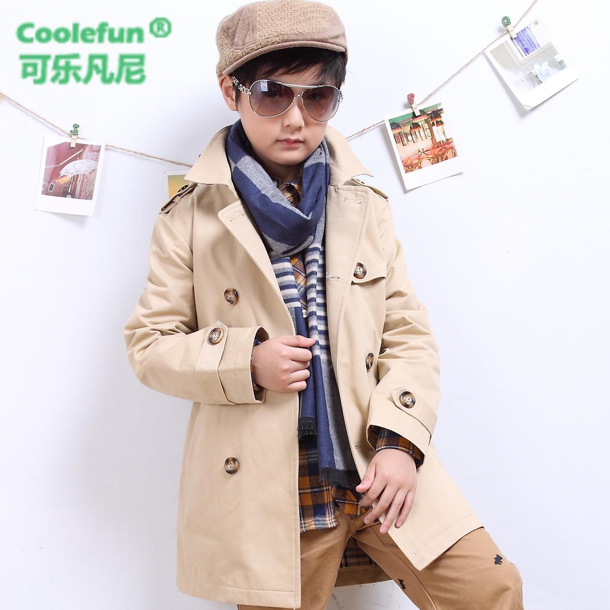 潮外套 童裝 包郵 男童兒童風衣外套 2014新款 春秋韓版 青少年大童圖片