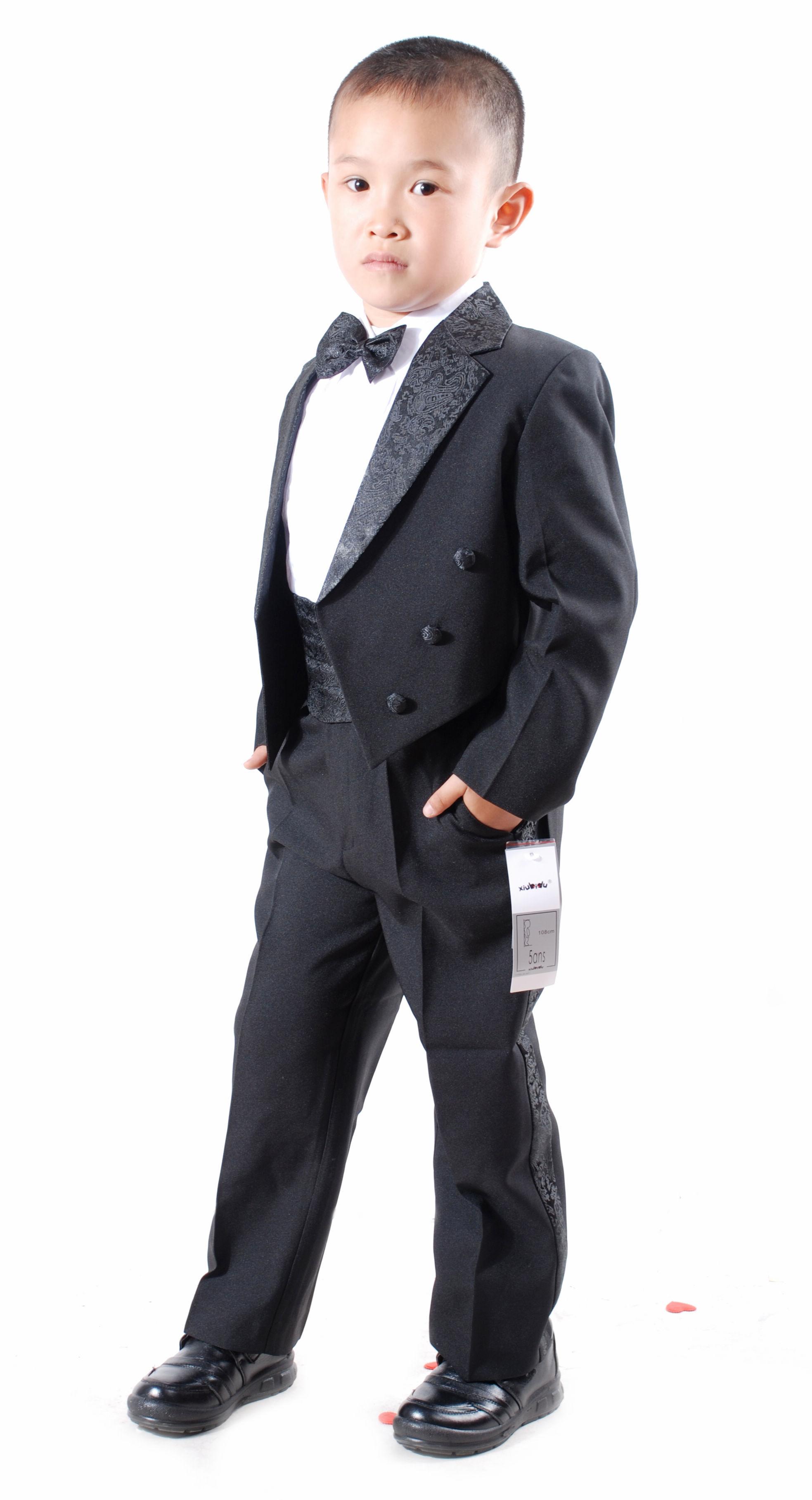 儿童演出服装 男童花童礼服学生表演服 大合唱 夏装套装FB014