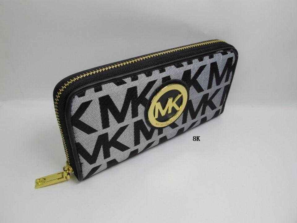 Бумажник Michael kors 2013 MK Длинный бумажник Девушки Другие материалы
