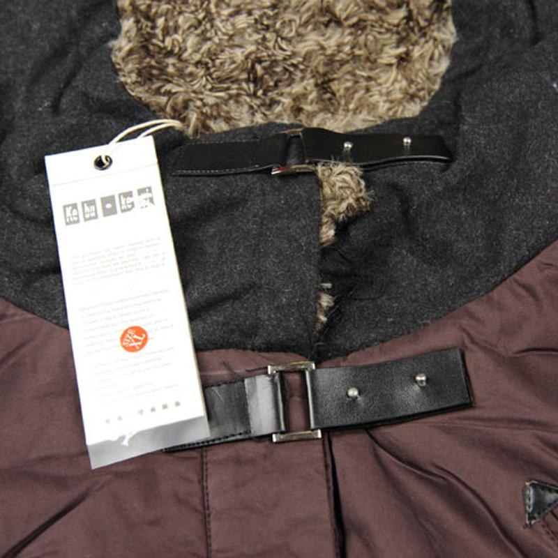 Женская утепленная куртка tp11wt108 138 Прямой Длинный рукав