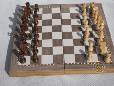 Factory direct high-quality wooden chess board educational toys educational toys for children 3 in 1
