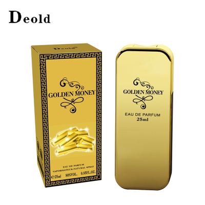 European gold coins handed Deold wooden oriental fragrance for men mysterious oriental floral fragrance 25ml