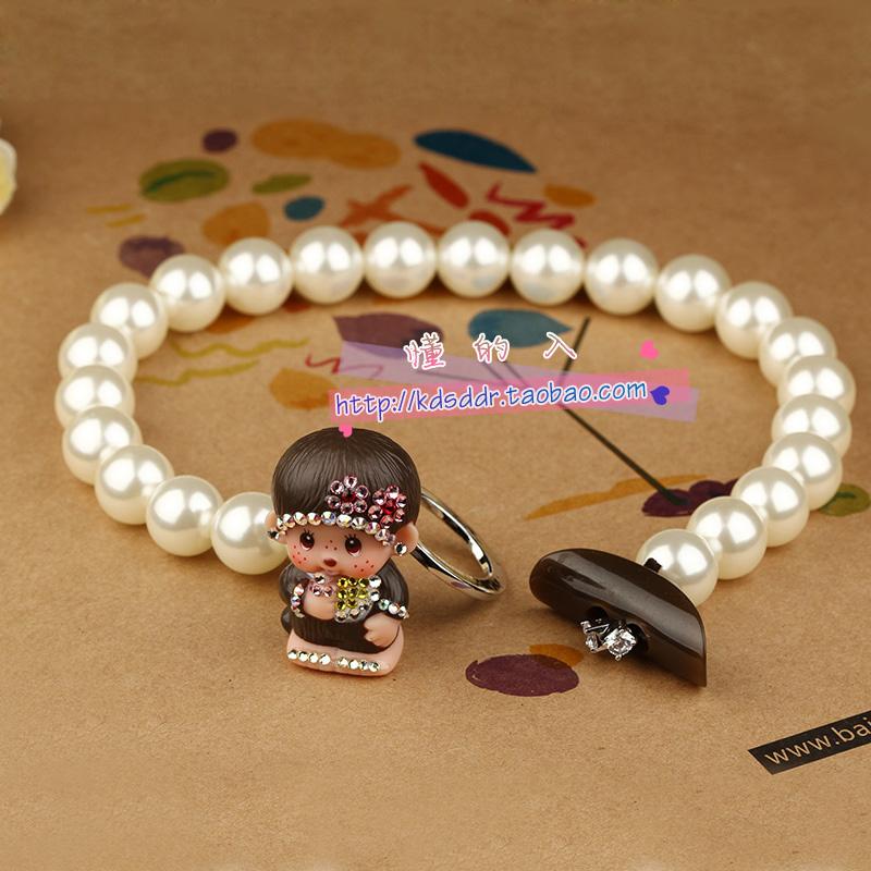 蒙奇奇珍珠项链