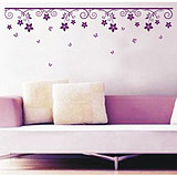 Betu Decorated living room bedroom sofa background wall stickers romantic houseful sticker tree story