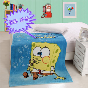 ! Cartoon coral carpet sub / air conditioning blanket / Spring and Autumn blanket / multi-purpose blanket / single childrens blankets