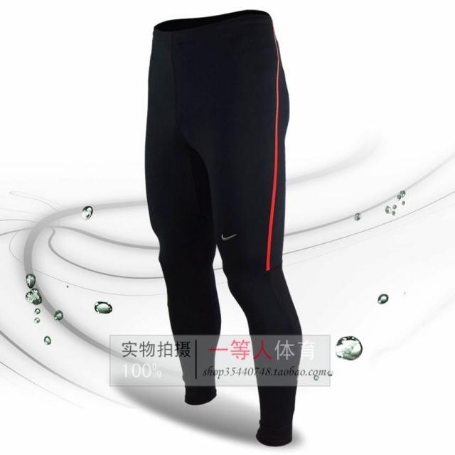 Брюки спортивные Nike 1101 Для мужчин Полиэстер Шнурок Осень 2012 Офсетная печать Комплексные тренировки