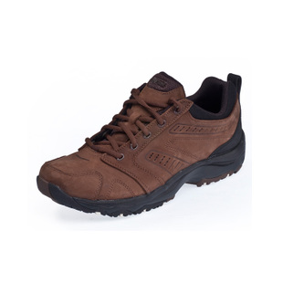 Comfortable casual shoes men's Decathlon walking leather NEWFEEL NAKURU CONFORT